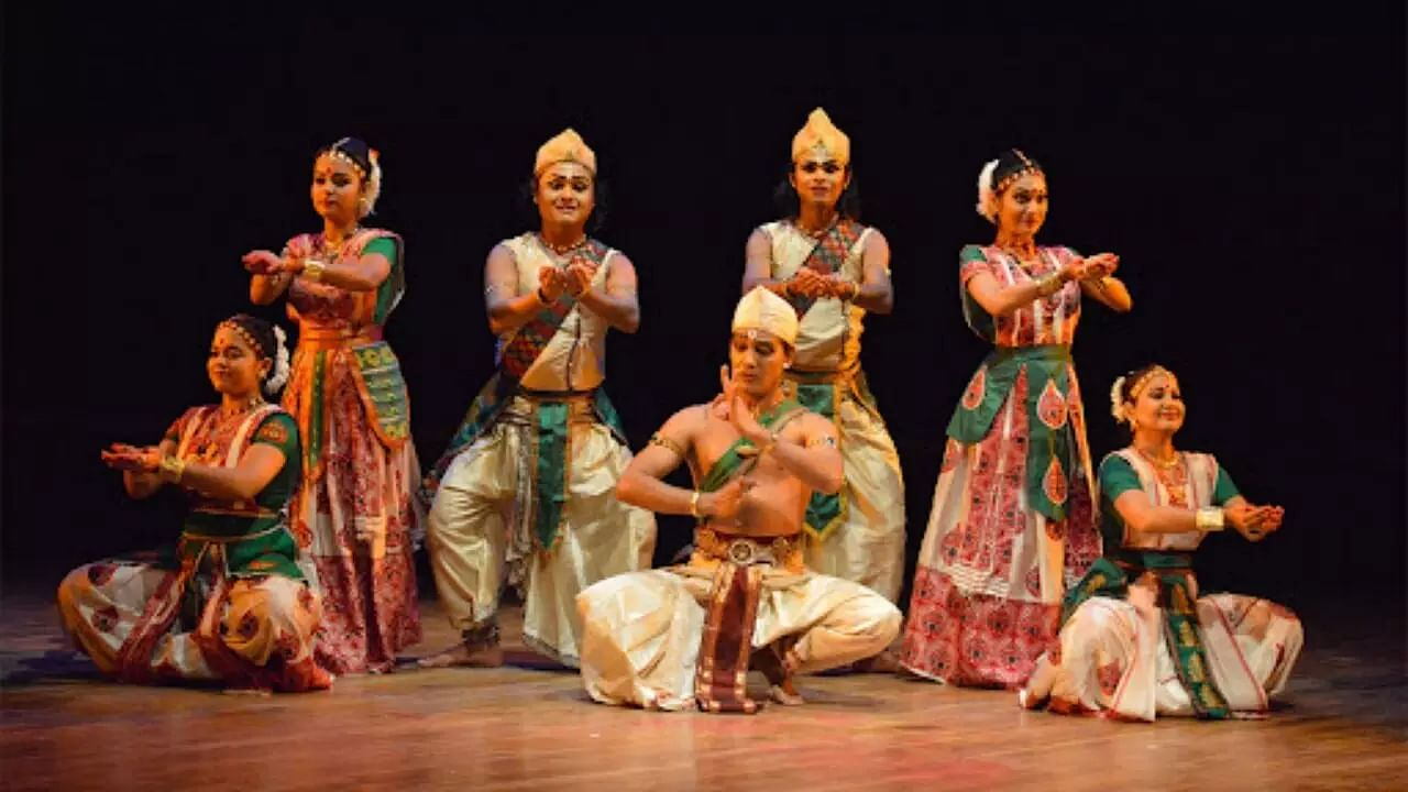 Tagores drama in Xatriya Dance form