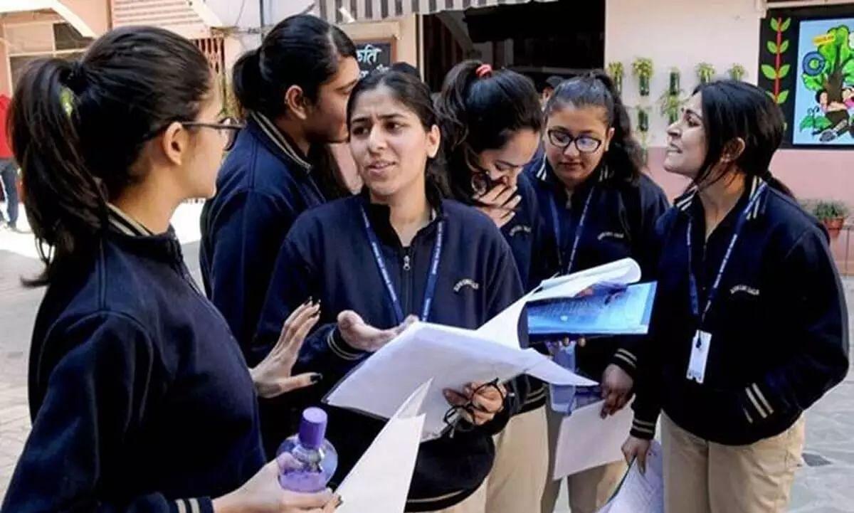Protesting Class 12 Students Appearing for Betterment Demands Uniform Evaluation Formula