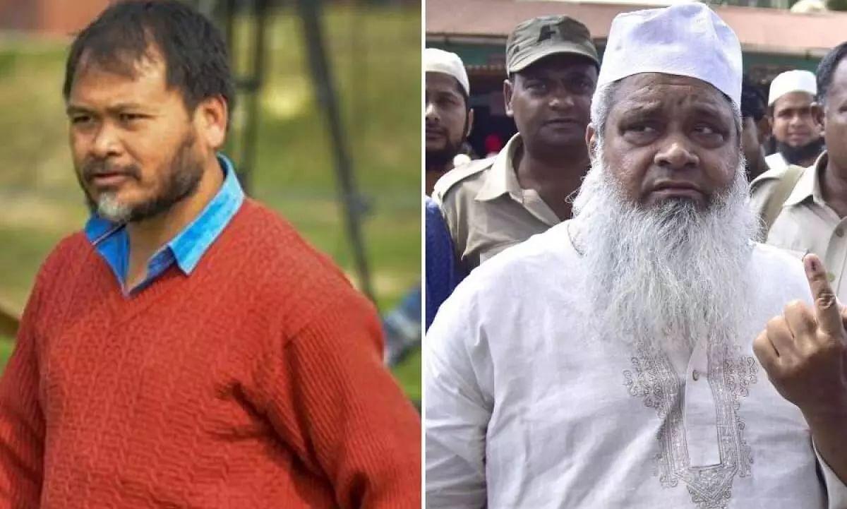 Whos Popular Among Muslims in Char Area? Akhil Dares AIUDF Supremo Badruddin Ajmal
