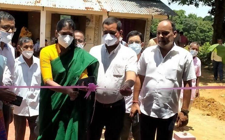DC Keerthi Jalli inaugurated Model Anganwadi centre in Cachar - Sentinelassam