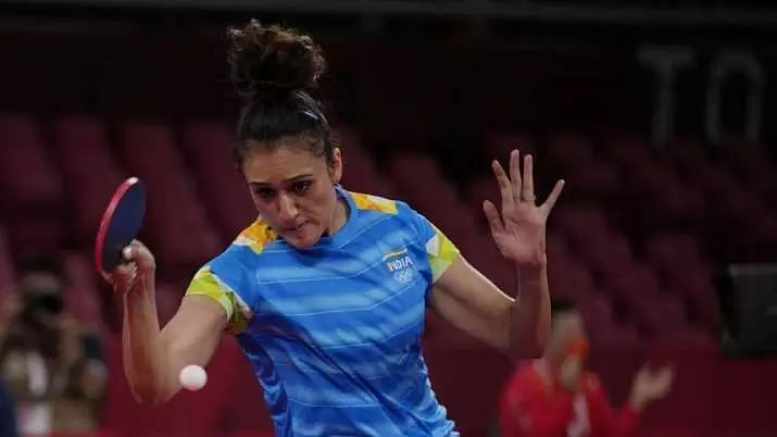 Indian paddler Manika Batra moves to second round of womens singles table tennis at Tokyo Olympics