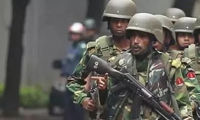 Bangladesh security forces crackdown on human traffickers