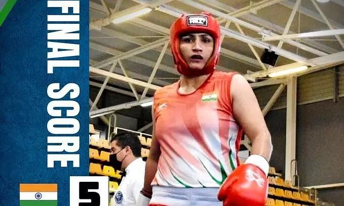 Tokyo Olympics 2020: Pooja Rani Defeats Ichrak Chaib of Algeria, Reaches Quarter Final