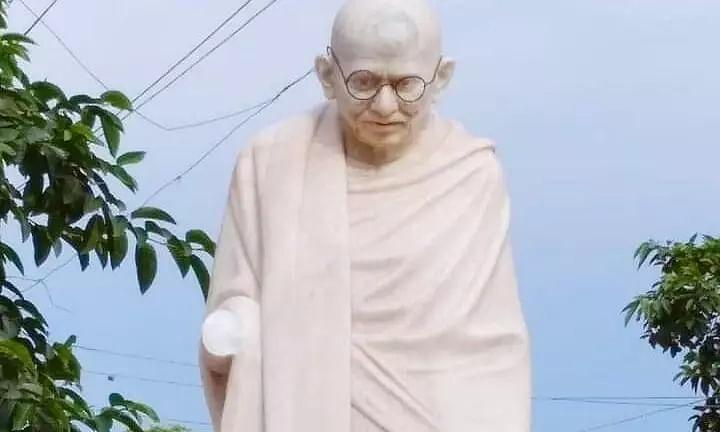 Two Decade Old Gandhi Statue Vandalized Before Desh Bhakti Divas in Goalpara, Assam