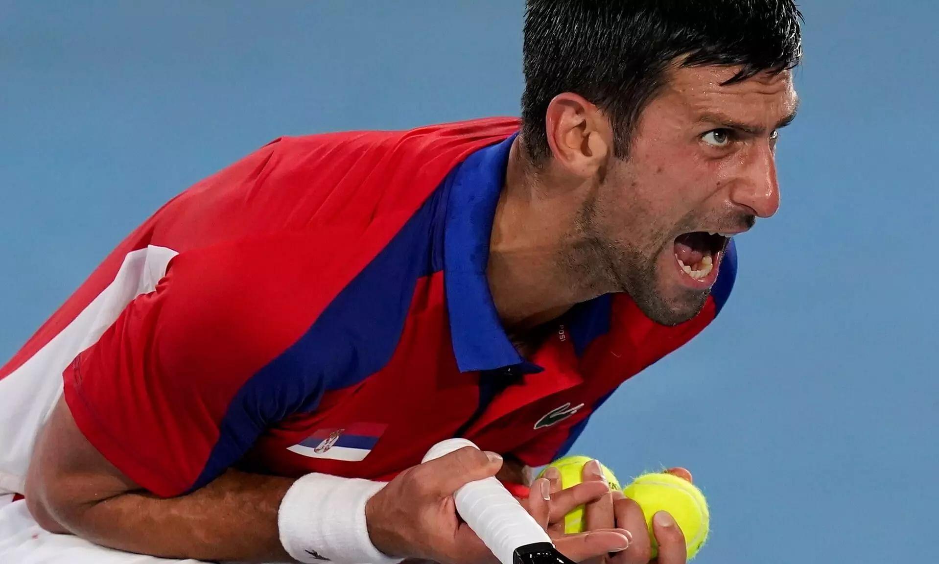 World No.1 Novak Djokovics Golden Slam Hopes End in Tokyo Olympics Semis
