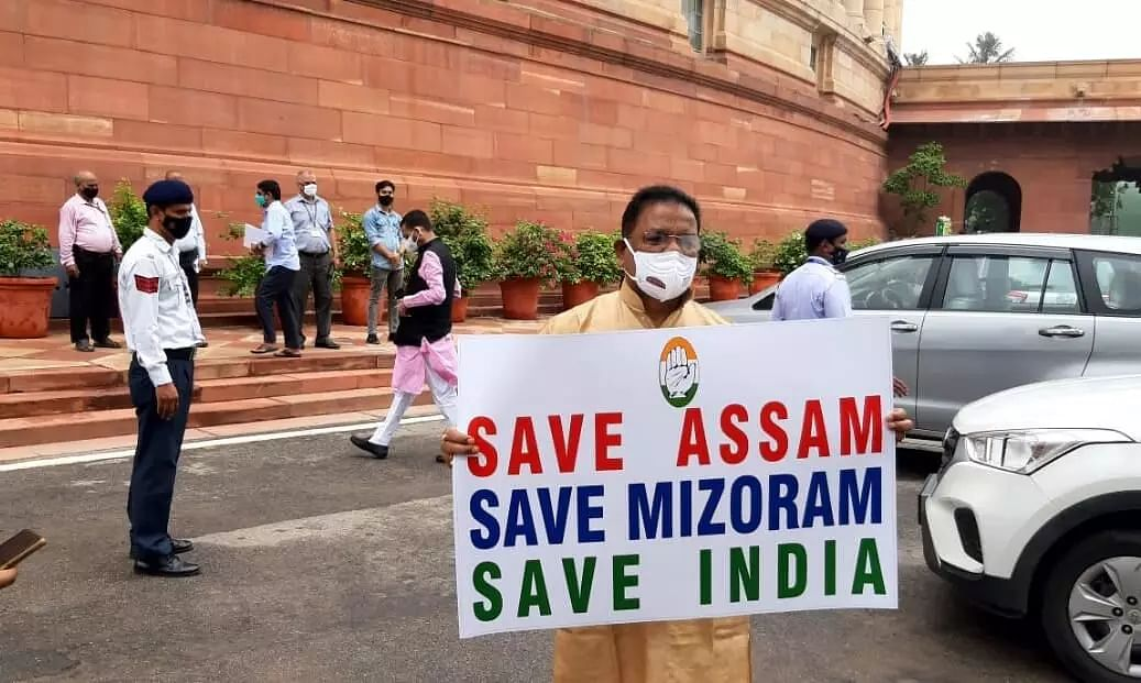 Govt Issues Travel Restrictions to Mizoram for People Residing in Assam, Congress MP Ripun Bora Says Unfortunate