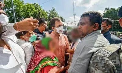 Rahul Gandhi Condoles 9-Year-Old Rape & Murder Victims Kin, Assures Justice