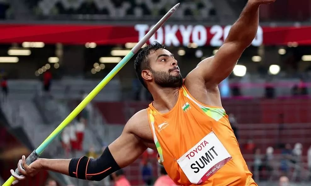 Tokyo Paralympics: India's Sumit Antil Wins Gold in Javelin Throw - Sentinelassam