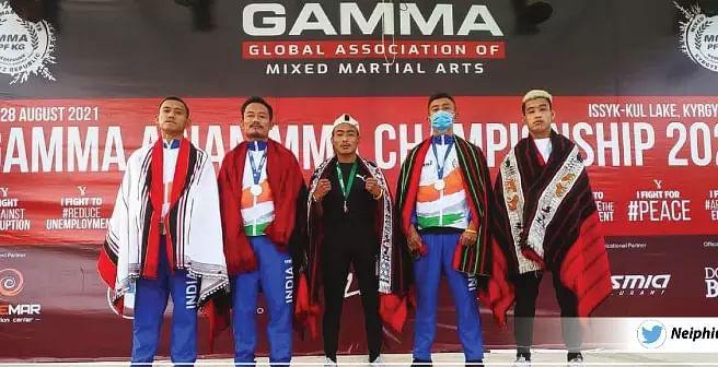 Naga Fighters Shine In Asian MMA Championship; Get Congratulated By CM Neiphiu Rio