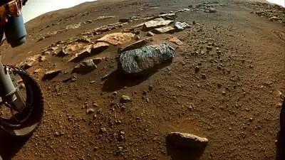 Perseverances rock sample gives insight into Mars history