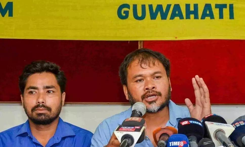 Akhil Gogoi Announces Dhairjya Konwar as Raijor Dals Thowra Candidate