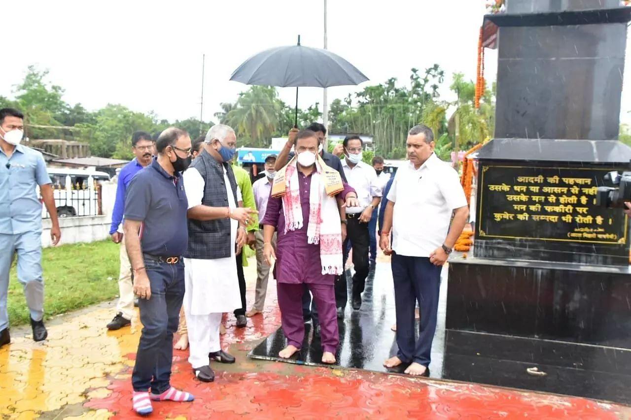 Assam CM Himanta Biswa Sarma Visits Barak Valley, Review Construction Work of Mini Secretariat