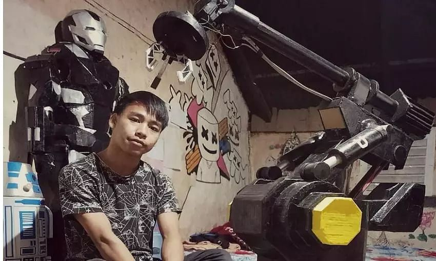 Electronic Waste to Ironman Costume - Manipur Teen Recycles Waste
