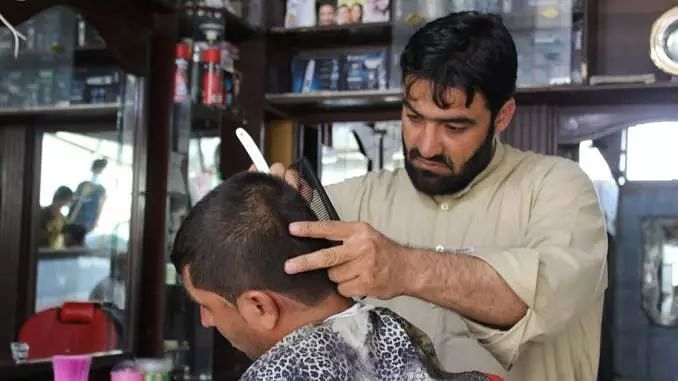 Taliban bans hairdressers from shaving, trimming beards