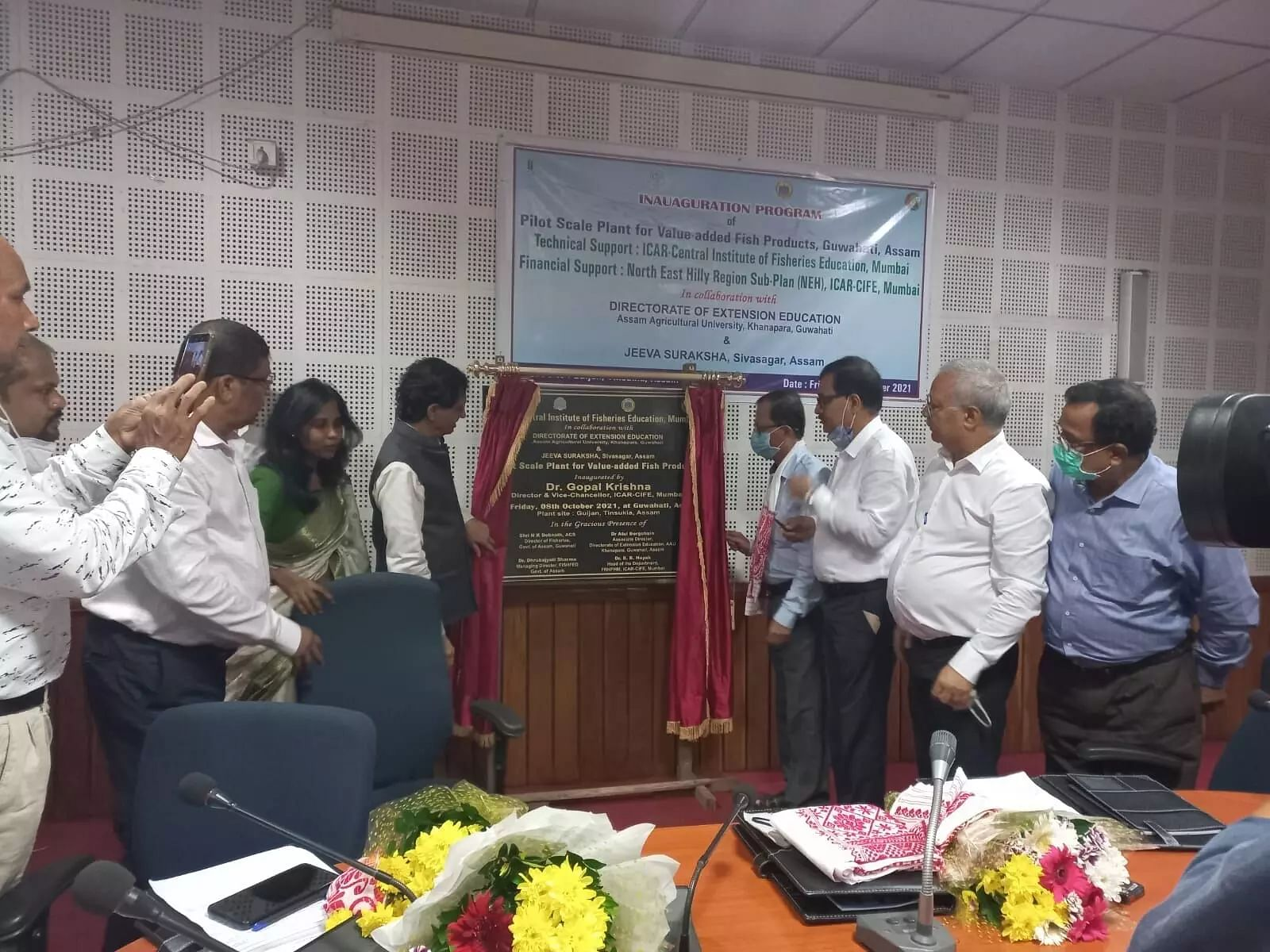 Pilot plant inaugurated for value added fish product preparation