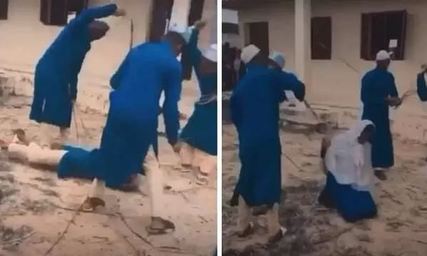 After School Beats Up Girl For Consuming Alcohol At Parents Request, A Video Of The Girl Being Flogged Goes Viral