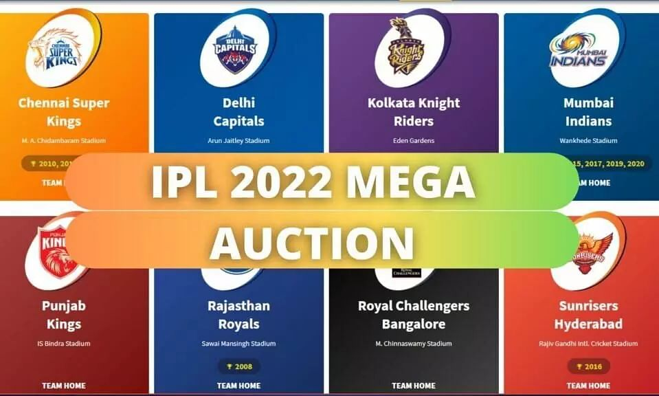 All You Need to Know About IPL 2022 Mega Auction